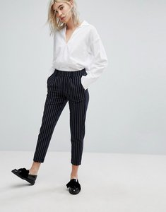 Read more about Bershka peg trouser - navy