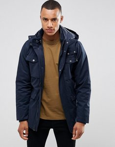 Read more about Casual friday parka with removable hood - navy
