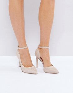 Read more about Call it spring exerina pointed court shoes - nude