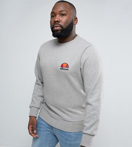 Read more about Ellesse plus sweatshirt with small logo - grey