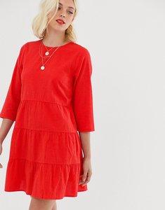 Read more about Asos design tiered mini smock dress in seersucker