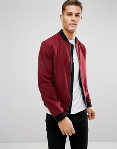 Read more about D struct wool bomber jacket - red