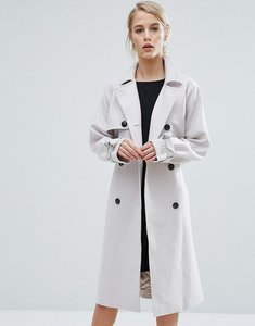 Read more about Storm marie julia wool trench coat - cream