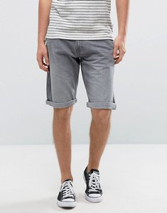 Read more about Esprit grey denim shorts with rolled hem - 922 grey denim