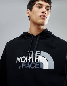 Read more about The north face drew peak pullover hoodie in black - black black
