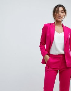 Read more about French connection suiting blazer - magenta haze