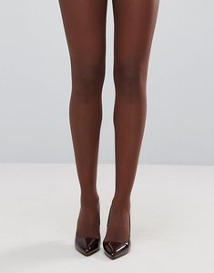 Read more about Asos 15 denier nude tights in umber - brown
