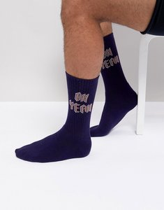 Read more about Urban eccentric oh yeah socks - navy