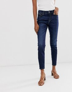 Read more about Stradivarius join life low waist skinny jeans in dark wash
