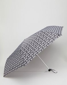Read more about Monki love print umbrella - black