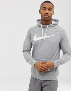 Read more about Nike training pullover hoodie in grey