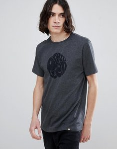 Read more about Pretty green short sleeve jersey logo t-shirt in grey - dark grey marl