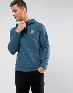 Read more about Hollister overhead hoodie athletic icon logo in navy marl - navy