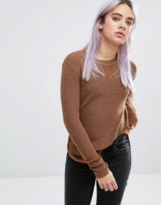 Read more about John jenn misha ribbed crew neck jumper - 275 camel 524 curran