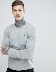 Read more about Polo ralph lauren long sleeve top in crew neck - grey
