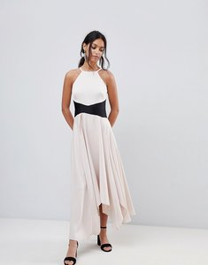 Read more about Coast asymmetric cami maxi dress - blush