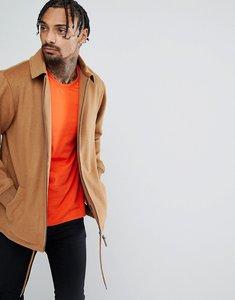 Read more about New era premium wool coach jacket - tan