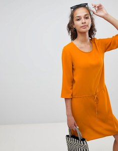Read more about Only tie waist dress - orange