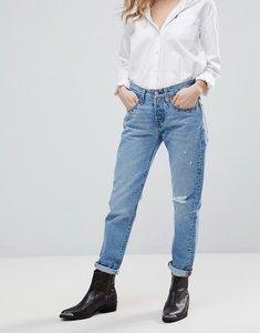Read more about Levi s 501 tapered cropped jeans - culture shock