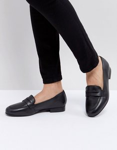 Read more about Asos manhatten leather loafers - black