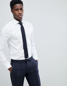 Read more about Michael kors slim smart oxford shirt in white - white