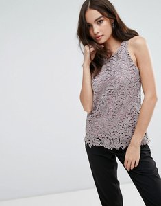 Read more about Glamorous lace top - dusty lilac