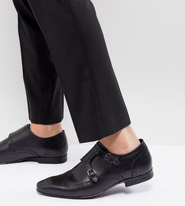 Read more about Kg by kurt geiger kilcardy monk shoes - black