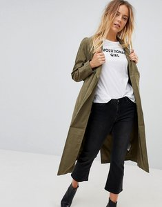 Read more about Vero moda soft wrap jacket - khaki