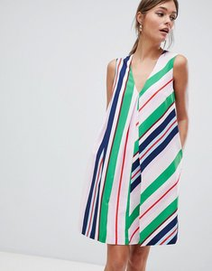 Read more about Ted baker tunic dress in bay of honour stripe - pl pink