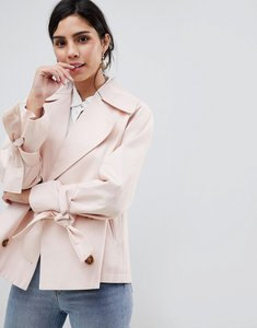 Read more about Asos design swing button mac - mink
