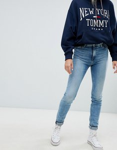 Read more about Tommy jeans high rise skinny jeans - fraser light blue