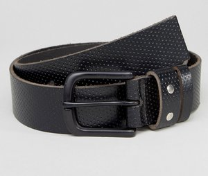 Read more about Systvm perforated leather belt - black