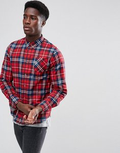 Read more about Brave soul check flannel shirt - red