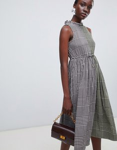 Read more about Vero moda multi check midi dress - pristine check