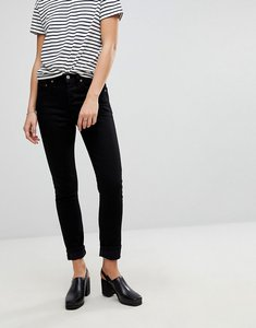 Read more about Levi s 501 high rise skinny jean - black slate