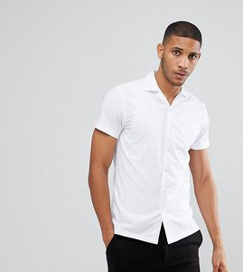 Read more about Noak revere collar shirt - white