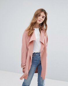 Read more about New look waterfall lightweight duster coat - pink
