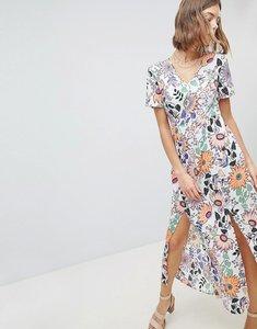 Read more about Vero moda floral maxi dress - multi