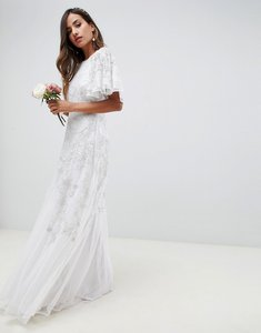 Read more about Asos edition floral applique wedding dress - ivory