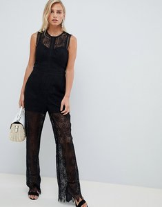 Read more about Forever new lace jumpsuit - black