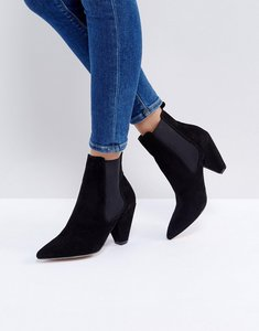 Read more about Asos rawless chelsea boots - black