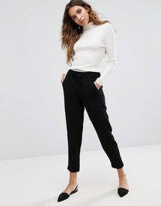 Read more about Only relaxed tailored trousers - black