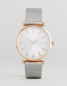 Read more about New look mesh strap watch - silver