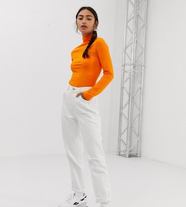 Read more about Bershka mom jean in white