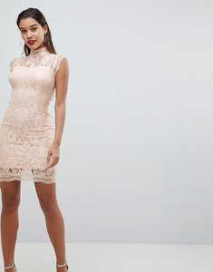 Read more about Ax paris lace pencil dress - pink
