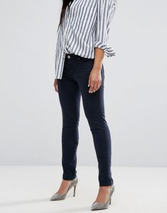 Read more about 7 for all mankind high waisted skinny jean - navy riche sateen
