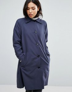 Read more about Cooper stallbrand raglan mac coat - blue