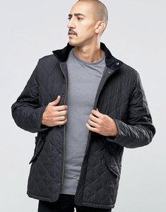 Read more about Barbour chelsea quilted jacket in navy - navy