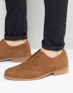 Read more about Kg by kurt geiger gloucester brogues tan suede - tan