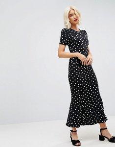 Read more about Asos city maxi tea dress in polka dot print - polka dot